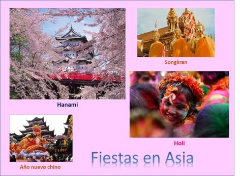 Fiestas asia